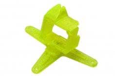 Rakonheli Kamerahalterung mit 20° Neigungswinkel in gelb für Blade Inductrix FPV +