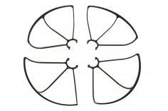 Revell Ersatzteil Schutzringe für Revell Control Quadrocopter Long Flight Cam-Copter Demon
