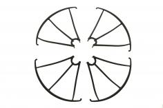 Revell Ersatzteil Schutzringe für Revell Control Quadrocopter GO RTF