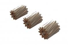 OXY Ersatzteil Motor Ritzel Set schrägverzahnt 10,11 und 12 Zähne für 2,0mm Welle für OXY2