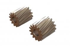 OXY Ersatzteil Motor Ritzel Set schrägverzahnt 13 und 14 Zähne für 2,5mm Welle für OXY2