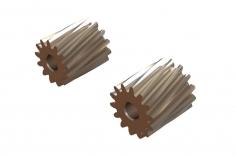 OXY Ersatzteil Motor Ritzel Set schrägverzahnt 13 und 14 Zähne für 2,0mm Welle für OXY2