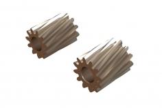 OXY Ersatzteil Motor Ritzel Set schrägverzahnt 11 und 12 Zähne für 2,5mm Welle für OXY2