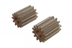 OXY Ersatzteil Motor Ritzel Set geradeverzahnt 11 und 12 Zähne für 2,0mm Welle für OXY2