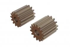 OXY Ersatzteil Motor Ritzel Set geradeverzahnt 13 und 14 Zähne für 2,0mm Welle für OXY2