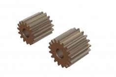 OXY Ersatzteil Motor Ritzel Set geradeverzahnt 15 und 17 Zähne für 2,5mm Welle für OXY2