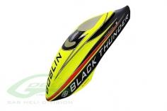 Kabinenhaube schwarz/gelb für Goblin 700 Black Thunder Sport
