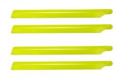 OXY Ersatzteil Hauptrotorblätter 190mm aus Kunststoff in gelb 2 Paar für OXY2