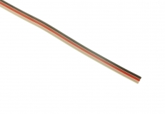 Servokabel für Futaba System 3x0,14mm² PVC flach 1 Meter