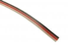 Servokabel für Futaba System 3x0,25mm² PVC flach 1 Meter
