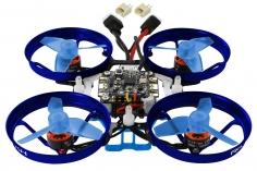 Rakonheli 2S Brushless Whoop FPV BNF-FRSKY aus Aluminium in blau und Carbon 66mm
