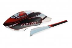Fusuno Speedrumpf im Masky Design für SAB Goblin 280 Fireball