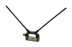 Antennenhalter klappbar in schwarz für RC Empfängerantennen