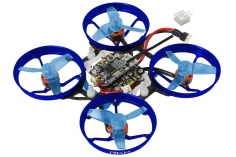 Rakonheli 1S Brushless Whoop FPV BNF-FRSKY aus Aluminium in blau und Carbon 66mm