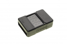 LiPo Checker / Wächter 1-6S im Gehäuse