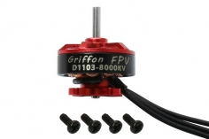 Griffon D1103 8000KV 1-3S FPV Racing Brushless Motor mit 1.5mm Welle