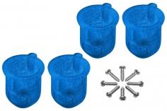 Rakonheli 8 mm Motorhalterungen in blau für Inductrix FPV+ Tuning Rahmen