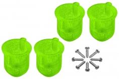 Rakonheli 8 mm Motorhalterungen in grün für Inductrix FPV+ Tuning Rahmen