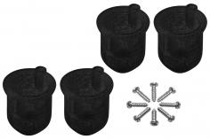 Rakonheli 8 mm Motorhalterungen in schwarz für Inductrix FPV+ Tuning Rahmen