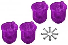 Rakonheli 8 mm Motorhalterungen in violet für Inductrix FPV+ Tuning Rahmen