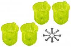 Rakonheli 8 mm Motorhalterungen in gelb für Inductrix FPV+ Tuning Rahmen
