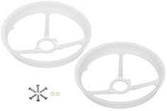 Rakonheli Propellerschützer aus Delrin 40mm für Rakonheli Delrin Tunning Rahmen für den Blade Inductrix FPV+