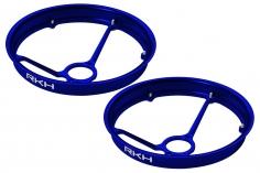 Rakonheli Propellerschützer aus Alu in blau 40mm - 8 mm Motoren für Rakonheli Tunning Rahmen für den Blade Inductrix FPV+