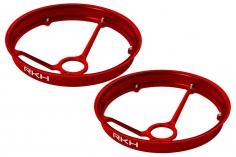Rakonheli Propellerschützer aus Alu in rot 40mm - 8 mm Motoren für Rakonheli Tunning Rahmen für den Blade Inductrix FPV+