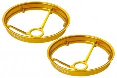 Rakonheli Propellerschützer aus Alu in gelb 40mm - 8 mm Motoren für Rakonheli Tunning Rahmen für den Blade Inductrix FPV+