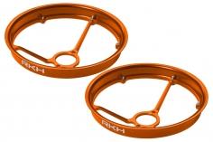 Rakonheli Propellerschützer aus Alu in orange 40mm - 8 mm Motoren für Rakonheli Tunning Rahmen für den Blade Inductrix FPV+
