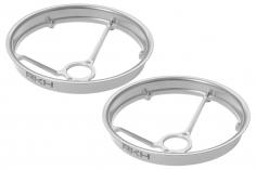 Rakonheli Propellerschützer aus Alu in silber 40mm für Rakonheli Tunning Rahmen für den Blade Inductrix FPV+