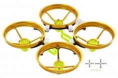 Rakonheli Tuning Rahmen aus carbon in gelb für Blade Inductrix FPV+
