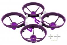 Rakonheli Tuning Rahmen aus carbon in violet für Blade Inductrix FPV+