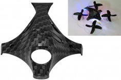 Rakonheli Hydrographics carbon Optik Haube in schwarz für Blade Inductrix FPV+