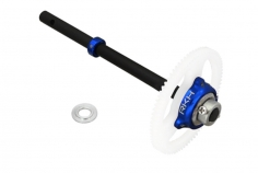 Rakonheli Freilauf SET in blau inkl Welle aus carbon für T-REX 150