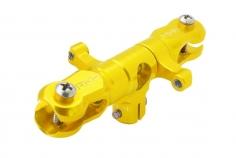 Rakonheli Hauptrotorkopf inkl Blatthalter in gelb für T-REX 150
