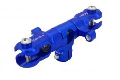 Rakonheli Hauptrotorkopf inkl Blatthalter in blau für T-REX 150