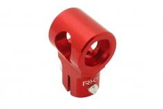 Rakonheli Hauptrotorkopf Zentralstück in rot für T-REX 150
