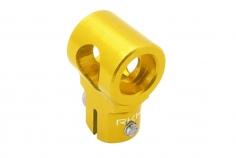 Rakonheli Hauptrotorkopf Zentralstück in gelb für T-REX 150