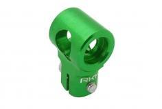 Rakonheli Hauptrotorkopf Zentralstück in grün für T-REX 150
