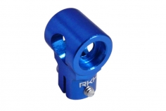 Rakonheli Hauptrotorkopf Zentralstück in blau für T-REX 150