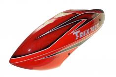 Fusuno Red Shadow Design Airbrush fiberglas Kabinenhaube für T-REX 700X