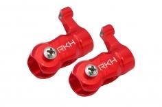 Rakonheli Hauptblatthalter CNC Aluminium in rot für T-REX 150