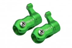 Rakonheli Hauptblatthalter CNC Aluminium in grün für T-REX 150