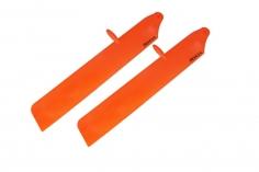 Rakonheli Hauptrotorblätter aus Kunstsotff 116mm in orange für T-REX 150