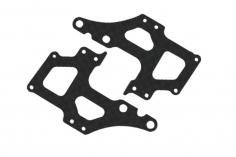 Rakonheli seitliche Rahmenteile aus carbon für den Rakonheli Tuningrahmen für T-REX 150