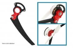 Rakonheli Heckmotorhalterung aus Alunimium in rot für T-REX 150