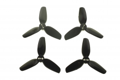 HQ Durable Prop Propeller 2,5X3,5X3 aus Poly Carbonate in schwarz je 2CW+2CCW