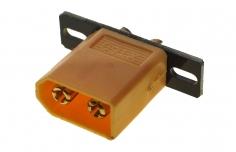 XT60 Stecker mit Halterung