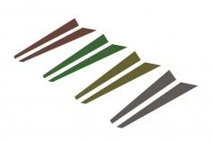 OXY Ersatzteil Sticker Set für die vertikale Finne für OXY4